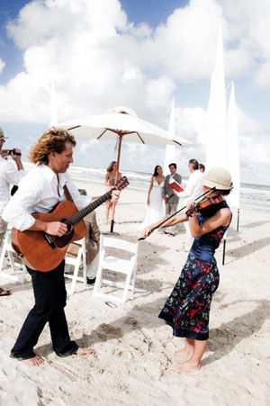 Byron Bay Beach Wedding with Byron String Duo