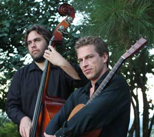 Mark Heazlett and Kieran Allen of Byron Strings